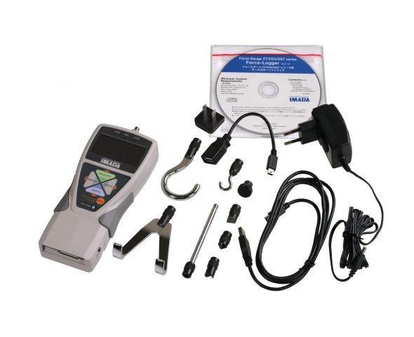 Force Gauge ZTA with standard accessories