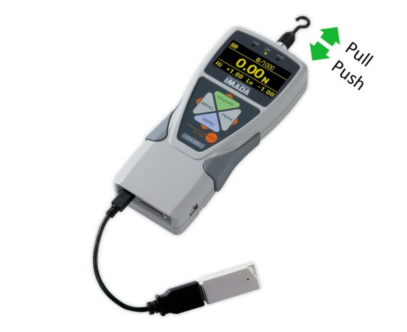 Force Gauge ZTA-50N with USB adapter