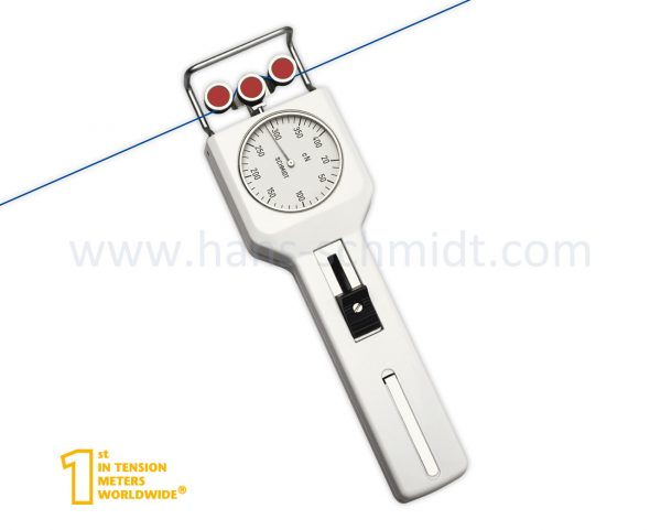 Tension meter DN1-400 with inserted measuring material